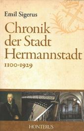 Chronik der Stadt Hermannstadt 1100-1929
