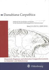 Danubia Carpathica Band 3/4 (50/51), 2009/2010
