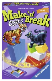 Ravensburger 23378 - Make n Break Circus - Mitbringspiel
