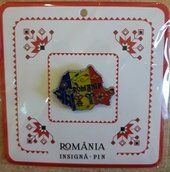 Insigna / Pin Romania MB106