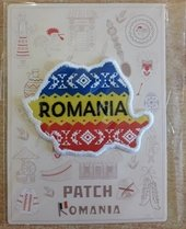 Ecuson textil Romania MB 138 / Patch Romania