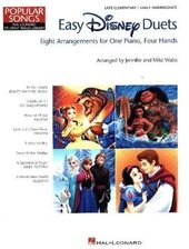 Easy Disney Duets: Eight Arrangements, For One Piano, Four Hands