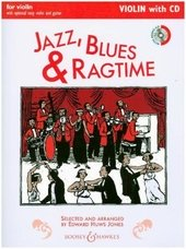 Jazz, Blues&Ragtime (Neuausgabe), m. Audio-CD