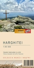 Hiking map of the Harghita Mountains - Harta de drumetie a Muntilor Harghitei